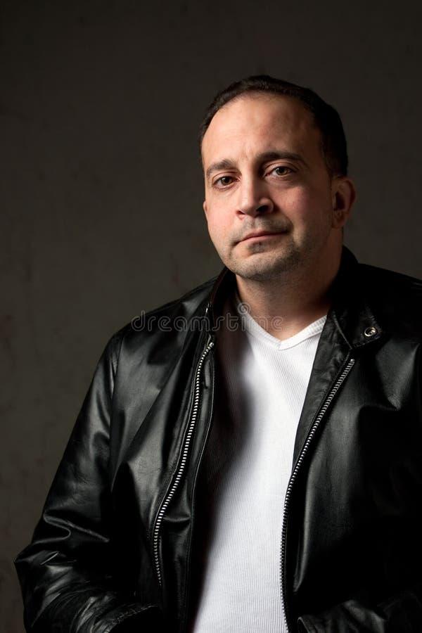 Hombre italiano confiado imagenes de archivo