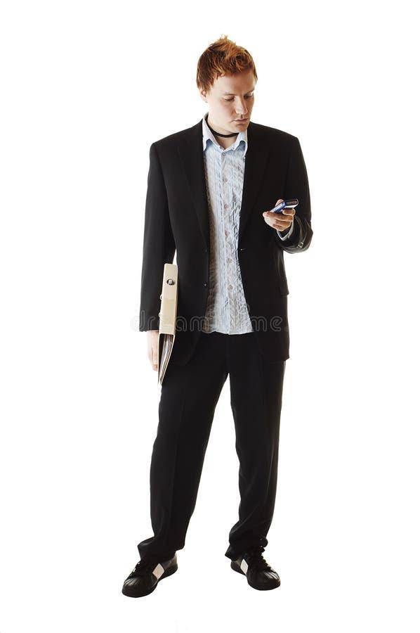 Download Hombre joven imagen de archivo. Imagen de varón, carpeta - 1290063