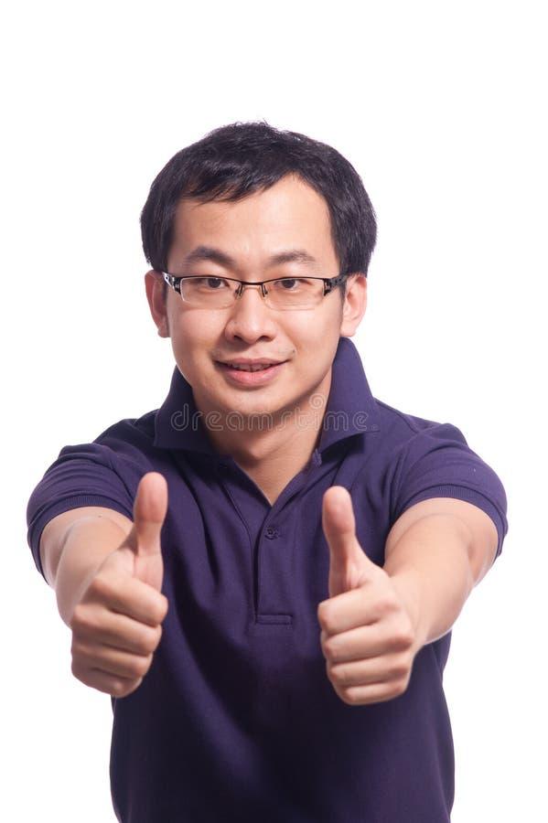 Hombre joven chino fotos de archivo