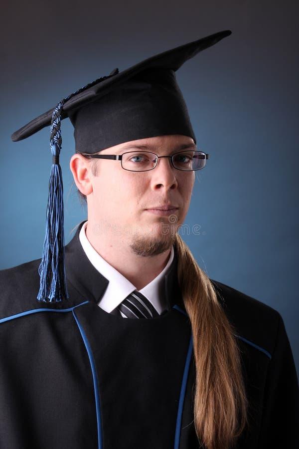 Hombre joven de la graduación foto de archivo libre de regalías