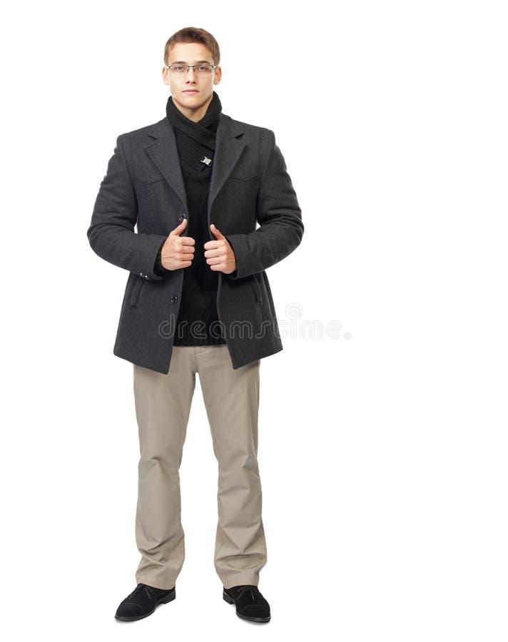 Hombre joven elegante imagen de archivo