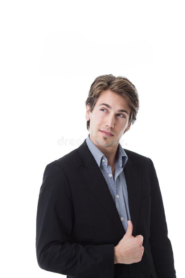 Hombre joven hermoso imagenes de archivo
