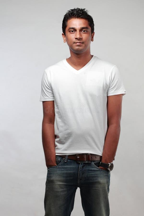 Hombre joven indio fotografía de archivo libre de regalías
