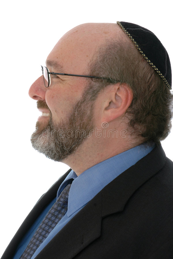 Hombre judío moderno imagen de archivo