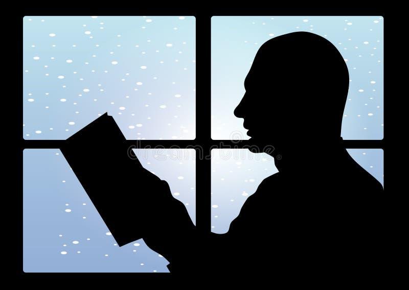 Hombre leído libre illustration