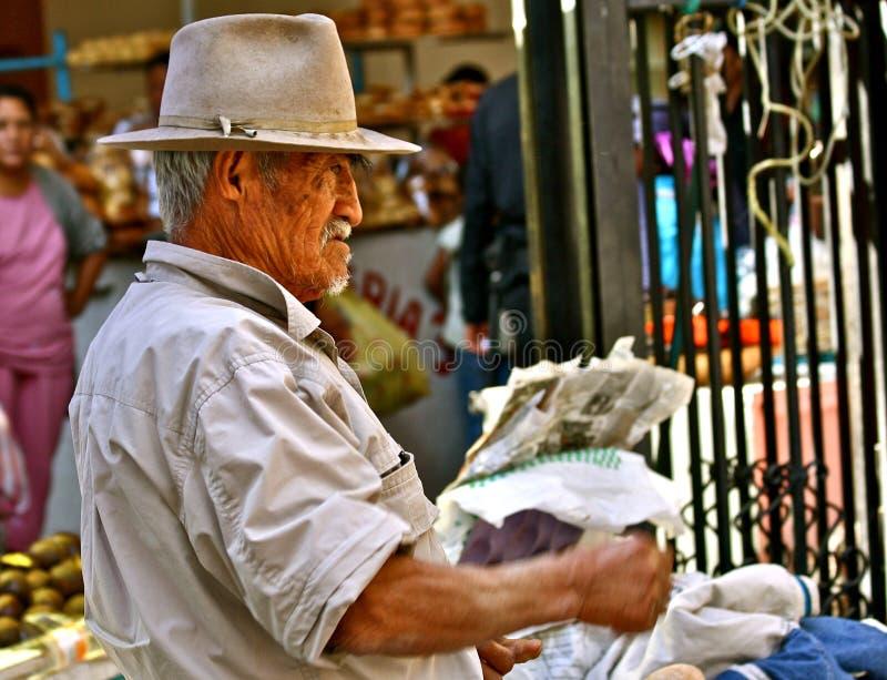 Hombre mexicano furioso fotografía de archivo libre de regalías