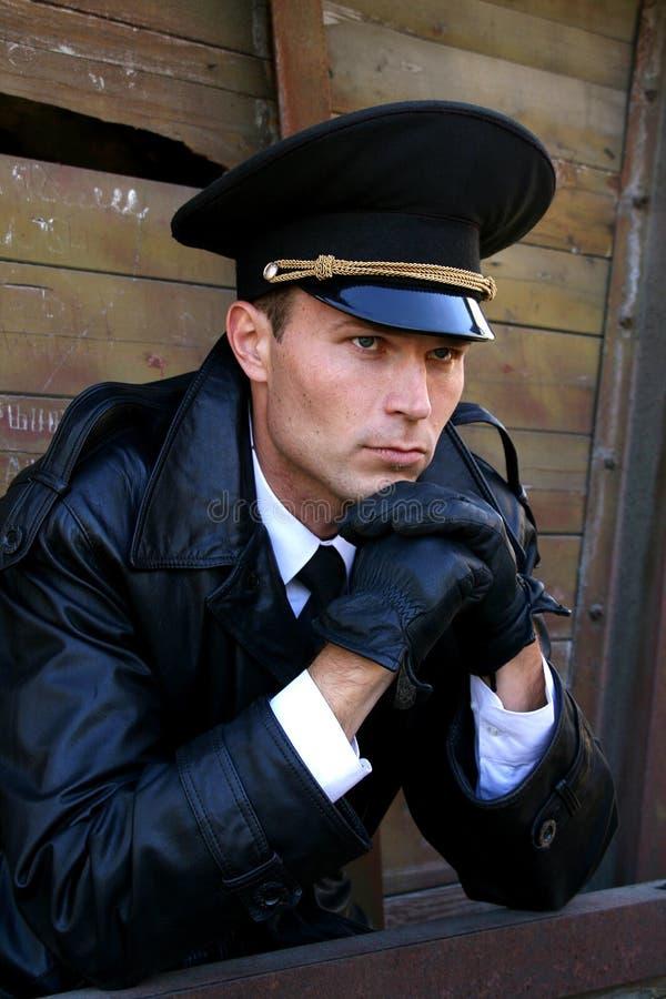 Hombre militar del estilo fotos de archivo libres de regalías