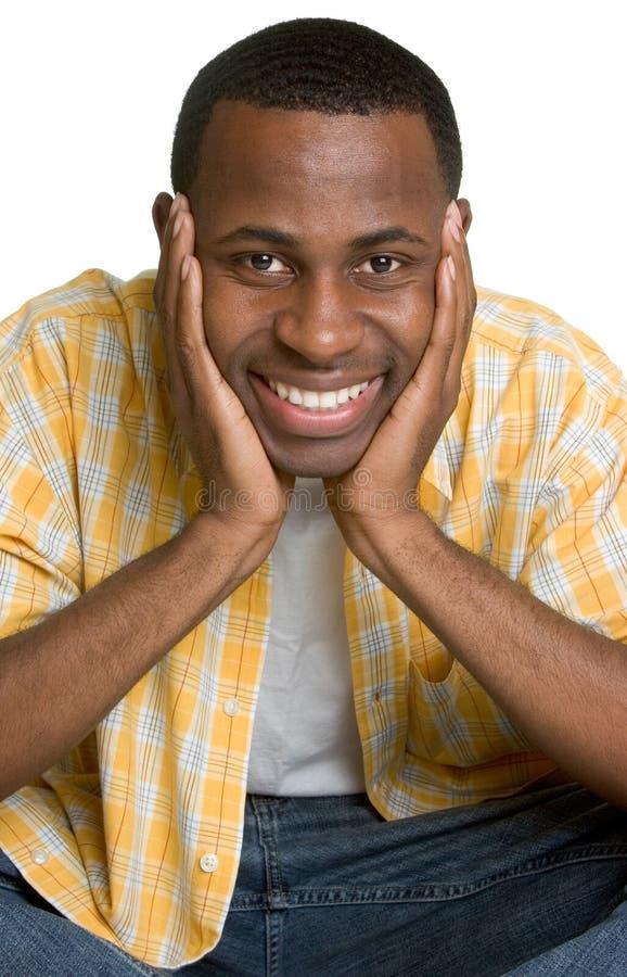 Hombre negro imagen de archivo libre de regalías