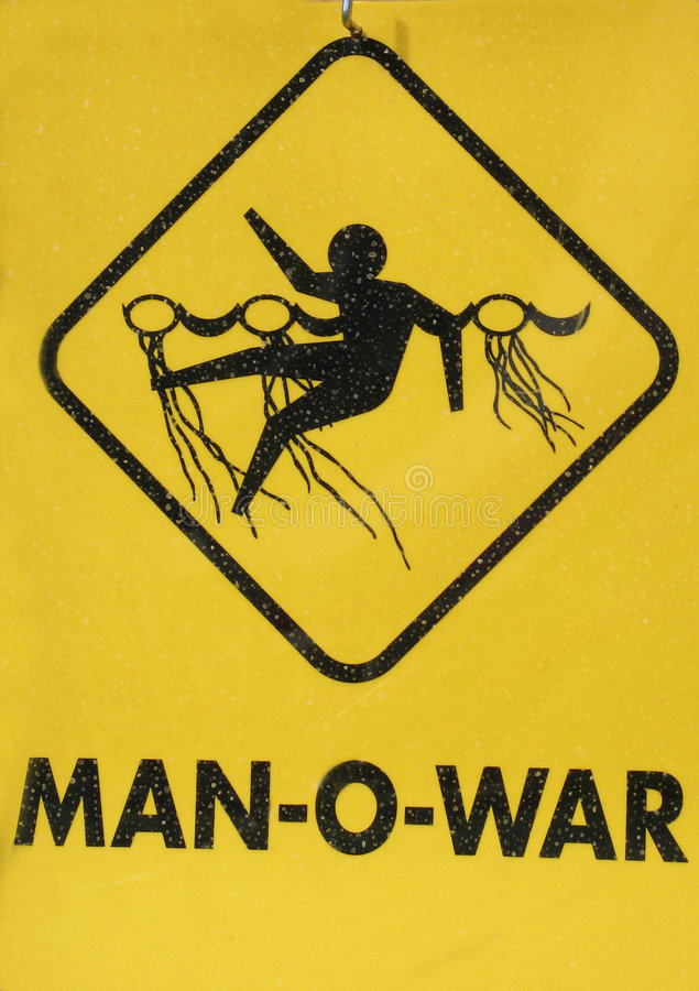 Hombre-O-Guerra imagen de archivo libre de regalías
