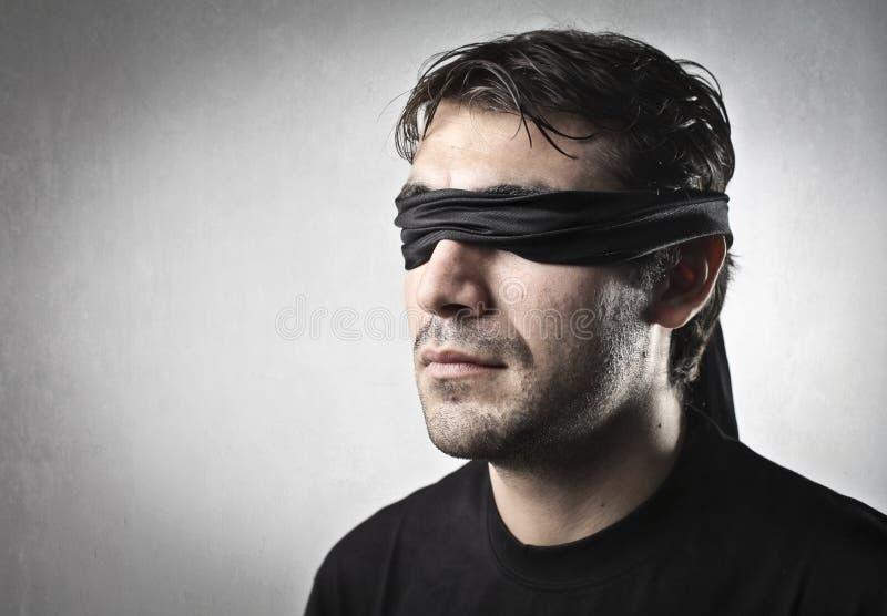 Hombre oculto fotografía de archivo libre de regalías