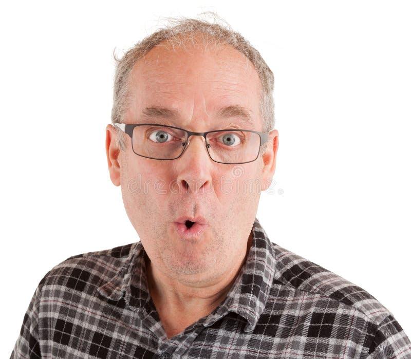 Hombre que hace seriamente preguntas fotos de archivo libres de regalías
