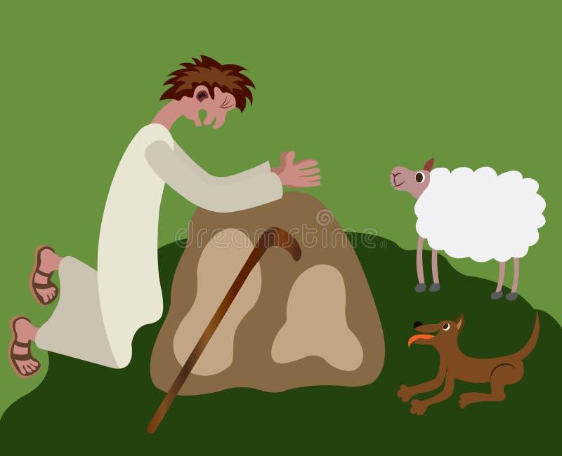 Hombre religioso 4 libre illustration