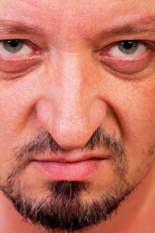 Hombre siniestro foto de archivo libre de regalías