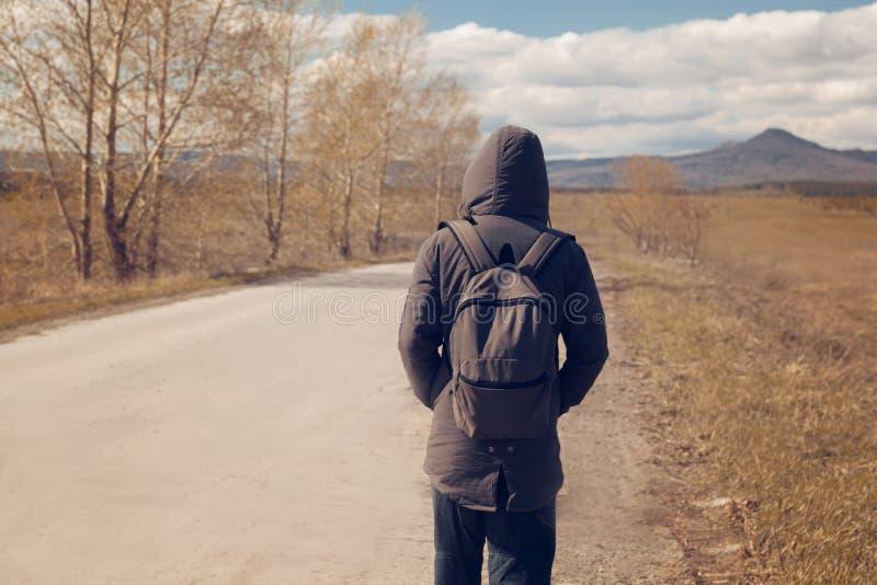 Hombre solitario imágenes de archivo libres de regalías