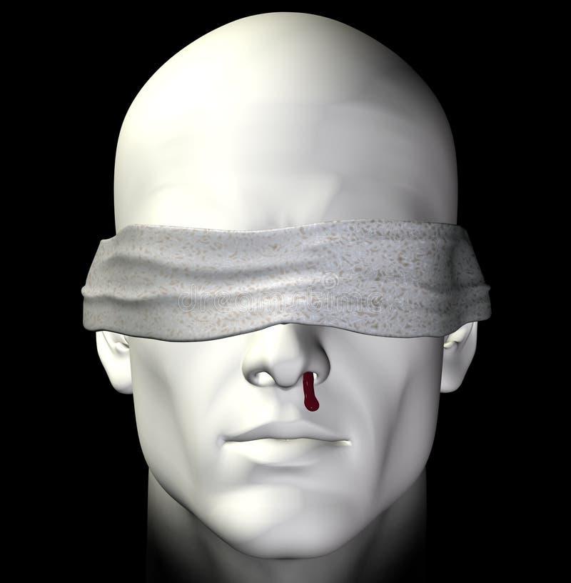 Hombre torturado libre illustration
