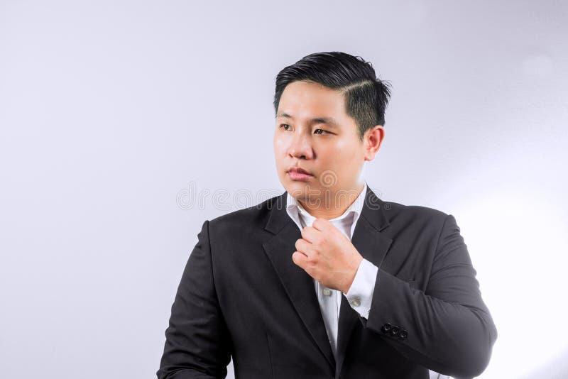Hombre vestido negocio asiático imágenes de archivo libres de regalías