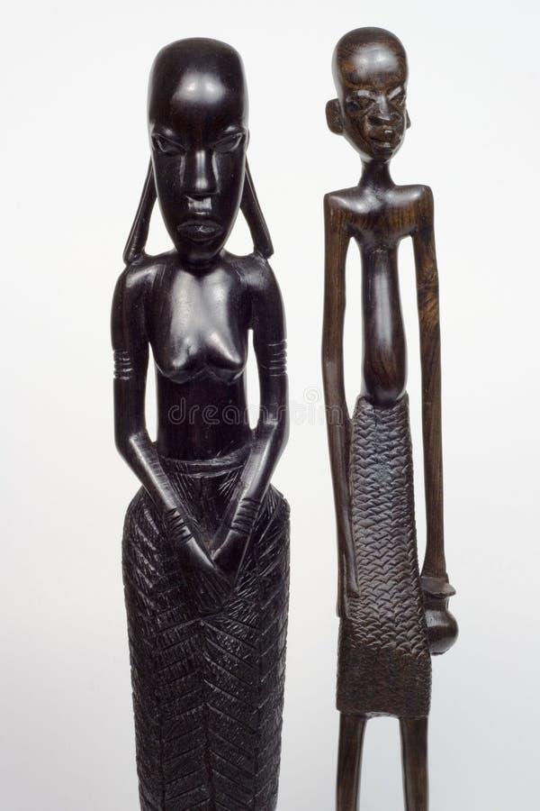 Hombre y mujer africanos foto de archivo libre de regalías