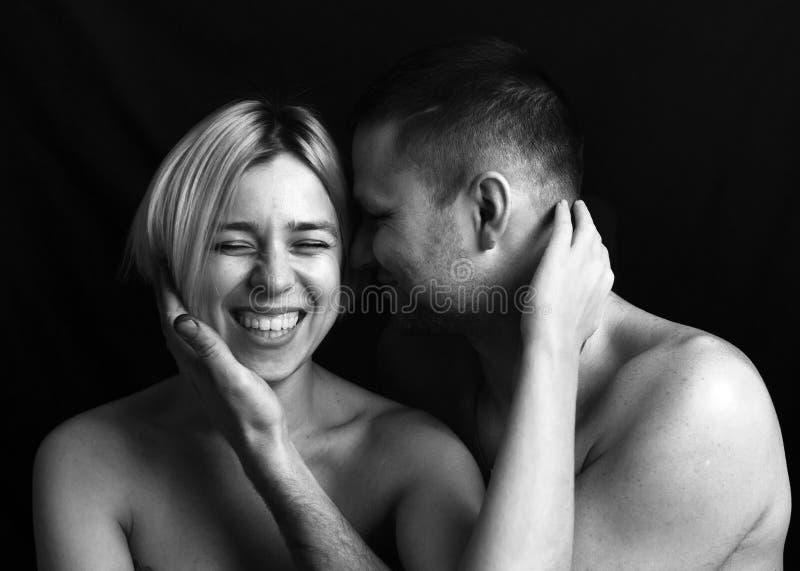 Hombre y mujer, retrato del primer imagen de archivo libre de regalías