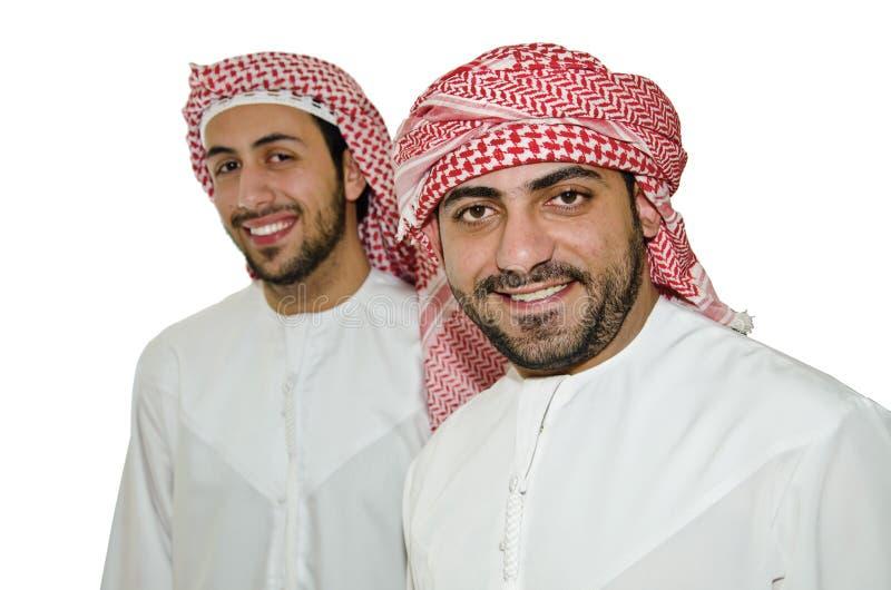 Hombres árabes fotografía de archivo