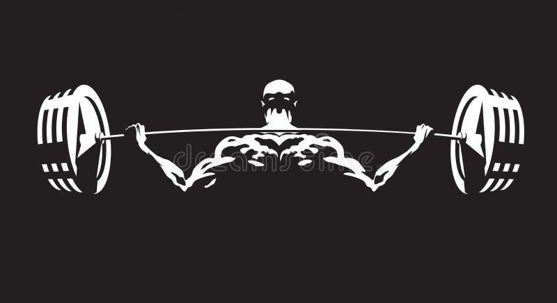 Hombres atléticos ilustración del vector