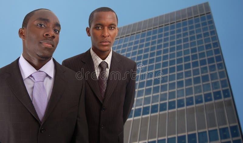 Hombres corporativos imagen de archivo