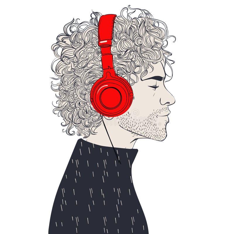 Hombres de la moda del inconformista libre illustration