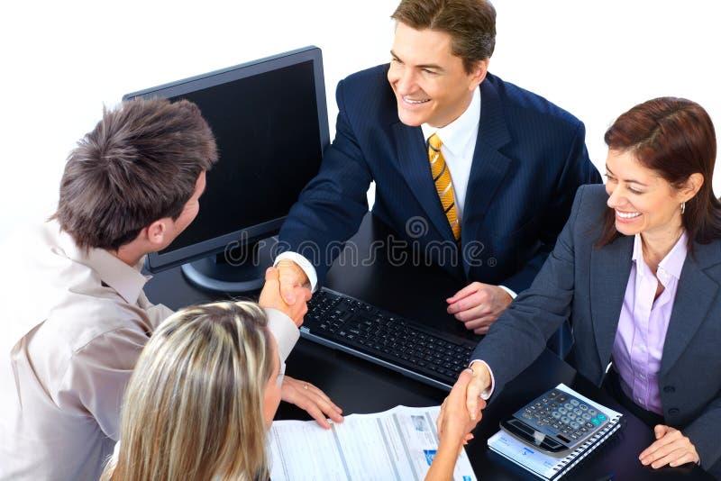 Hombres de negocios foto de archivo