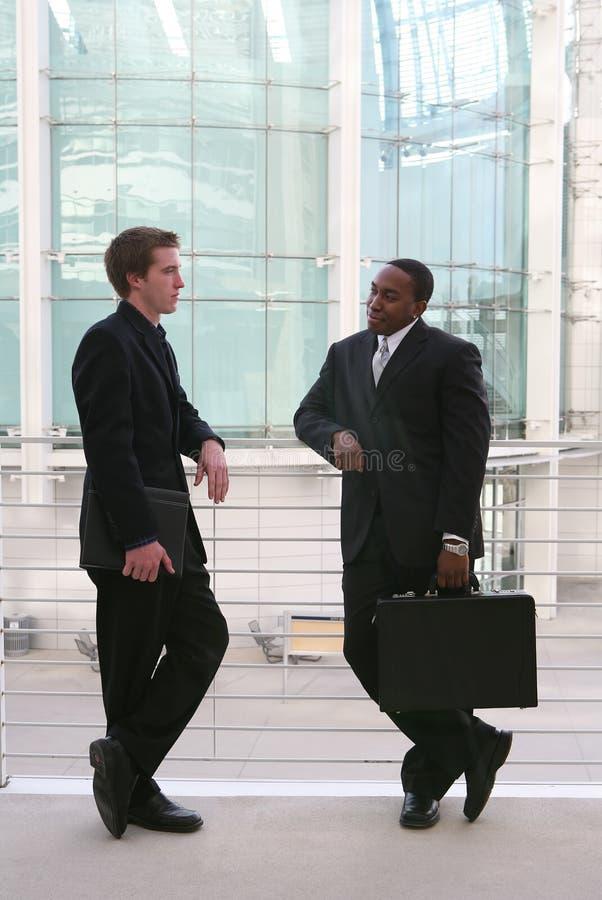 Hombres de negocios imágenes de archivo libres de regalías