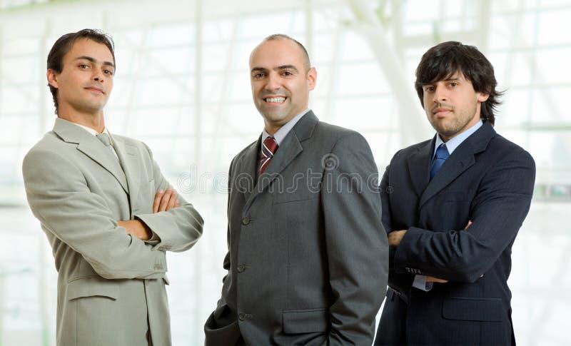 Hombres de negocios fotografía de archivo libre de regalías