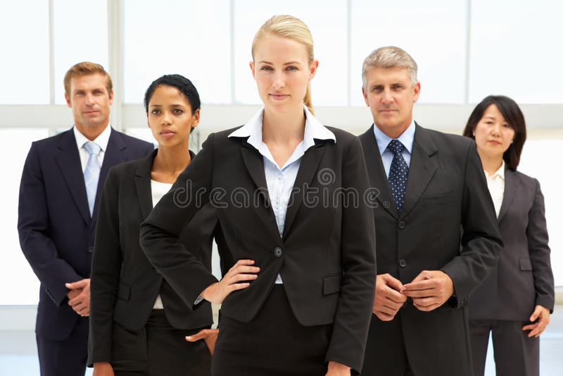 Hombres de negocios confidentes fotografía de archivo