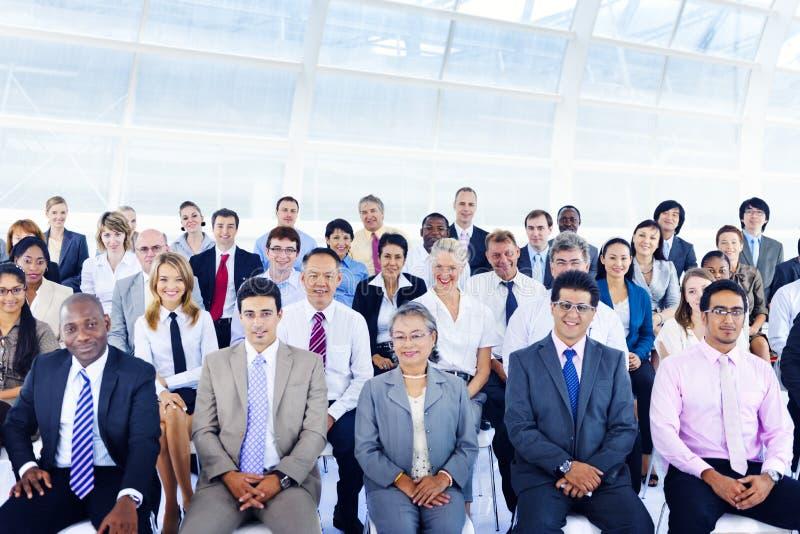 Hombres de negocios de Deversity Team Seminar Concept corporativo fotografía de archivo libre de regalías