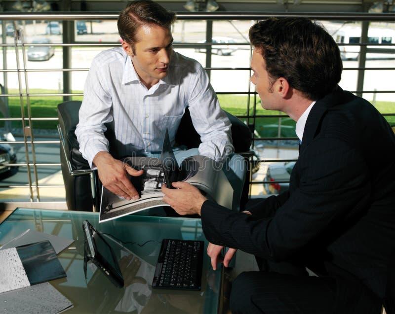 Hombres de negocios de g fotos de archivo