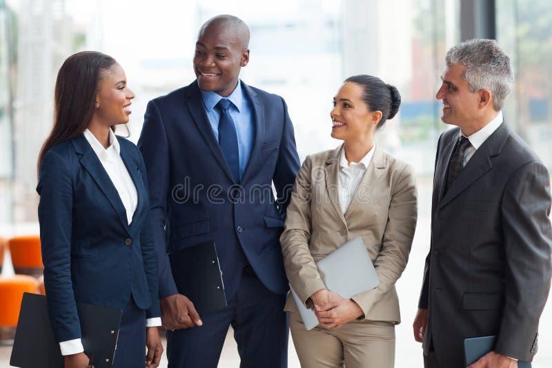 Hombres de negocios del grupo fotos de archivo