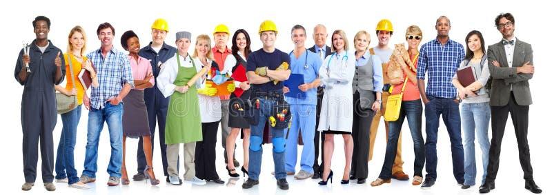 Hombres de negocios del grupo imagen de archivo libre de regalías