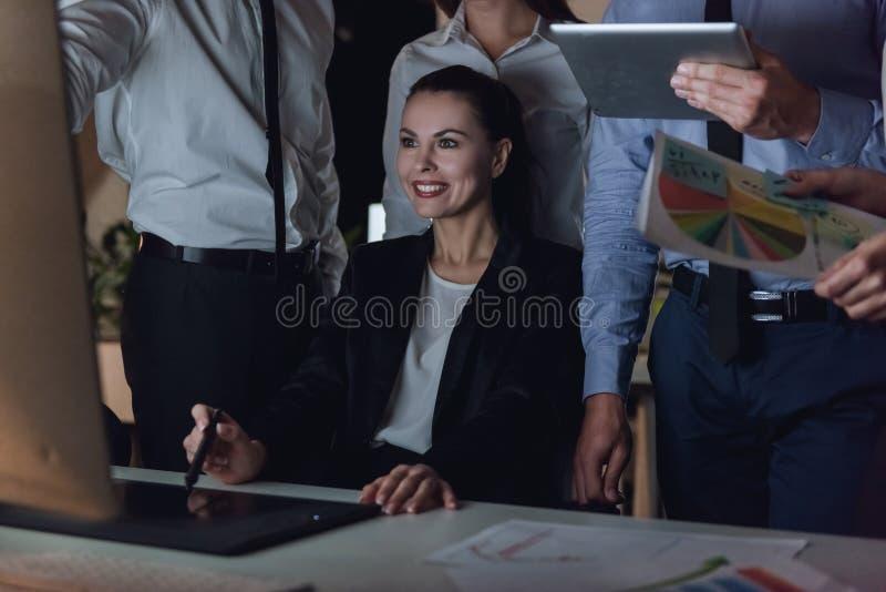 Hombres de negocios del trabajo fotos de archivo