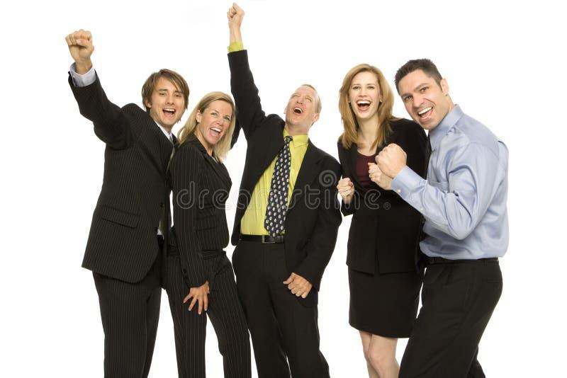 Hombres de negocios del trabajo en equipo imagen de archivo libre de regalías