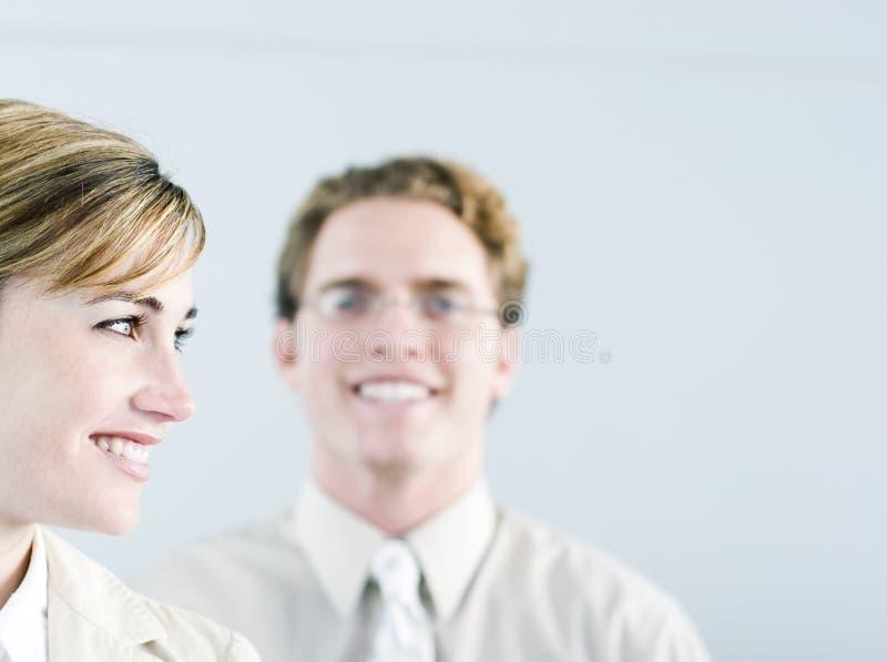 Hombres de negocios felices fotos de archivo libres de regalías