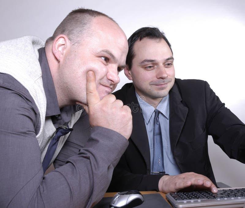 Download Hombres de negocios II foto de archivo. Imagen de conexión - 177098