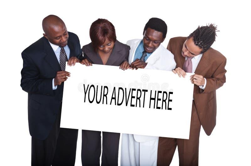 Hombres de negocios multirraciales imagen de archivo