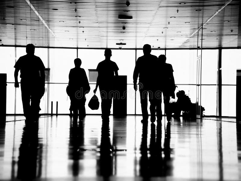 Hombres de negocios peatonales imagen de archivo