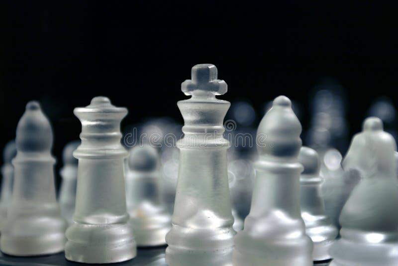 Hombres del ajedrez fotografía de archivo libre de regalías