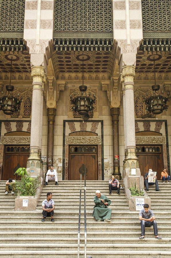 Hombres en El Cairo Egipto imagen de archivo libre de regalías