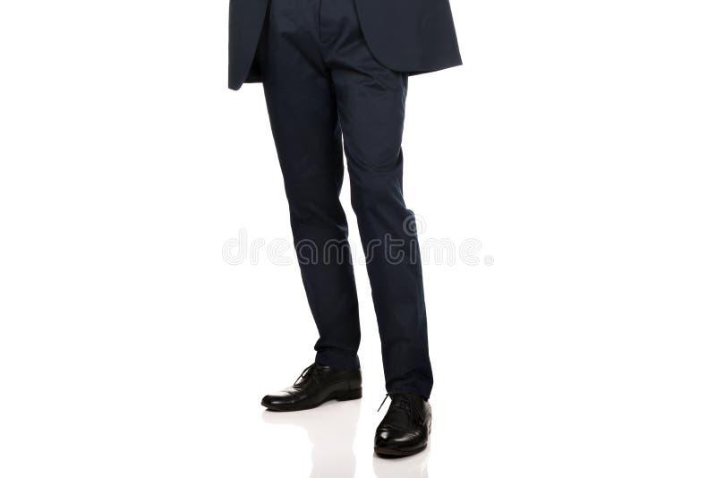 Hombres en ropa elegante foto de archivo libre de regalías