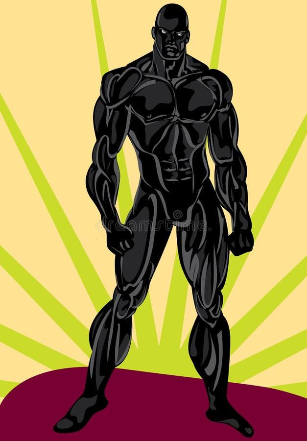 Hombres fuertes libre illustration