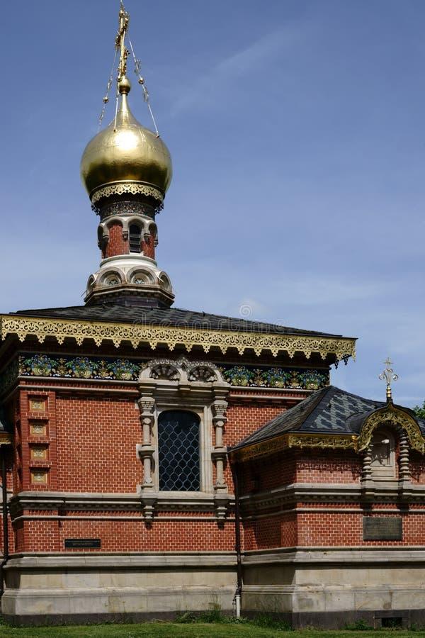 Homburg do mau da capela do russo imagem de stock royalty free