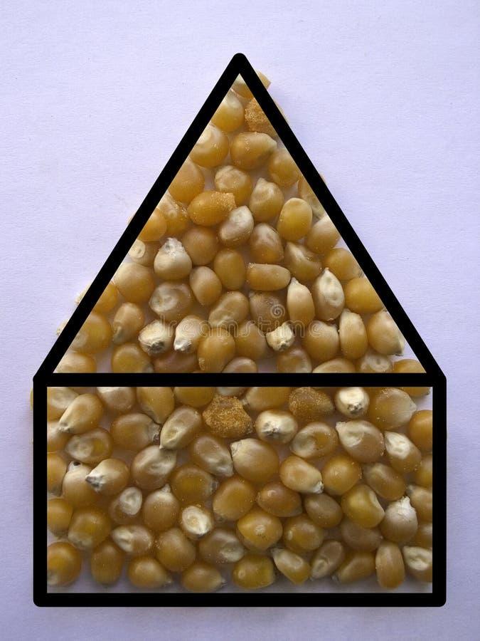 Home. +popcorn stock photography