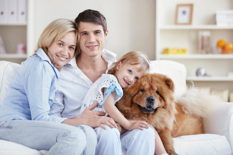 At home royalty free stock images
