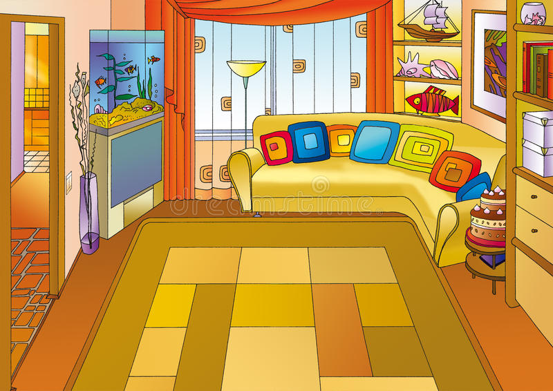 Home stock illustration