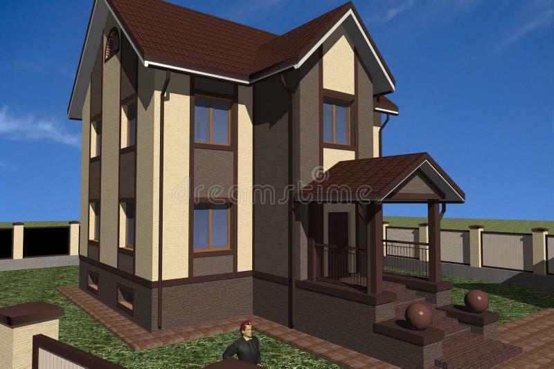 Home vector illustratie