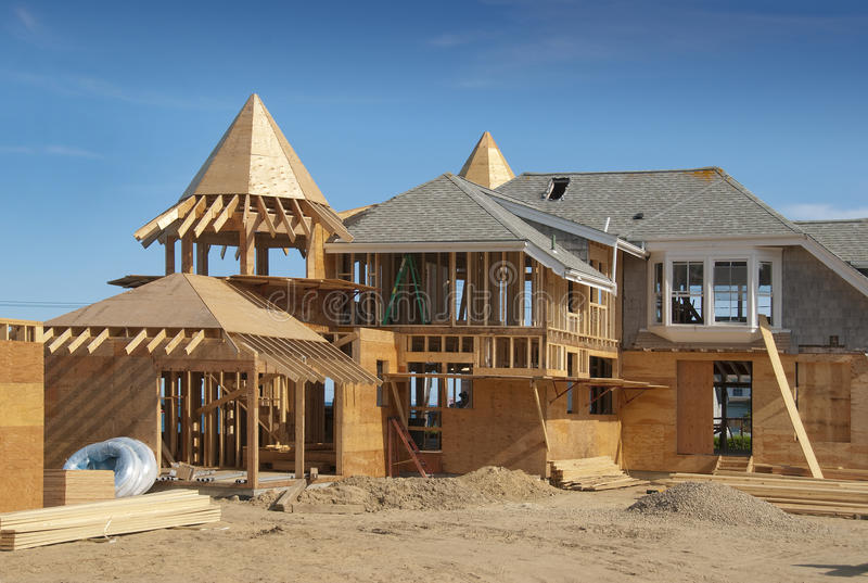 Download Home Addition Under Construction Stock Photo - Image: 20068376
